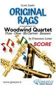 Original Rags - Woodwind Quartet (score)
