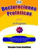 Declaraciones Proféticas Para El Progreso