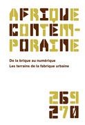 Afrique contemporaine n° 269-270