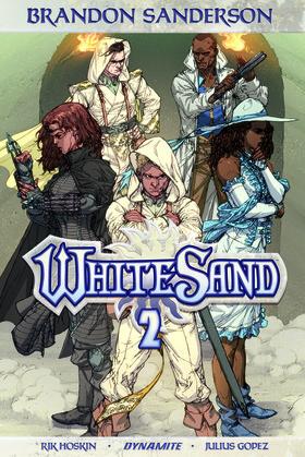 Brandon Sanderson's White Sand Vol. 2 Graphic Novel