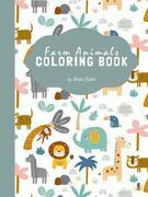 Farm Animals Coloring Book for Kids Ages 3+ (Printable Version)