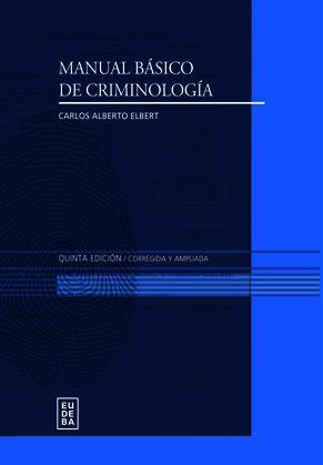 Manual básico de criminología