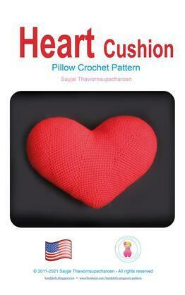 Heart Cushion Pillow Crochet Pattern