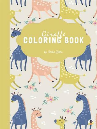 Giraffe Coloring Book for Kids Ages 3+ (Printable Version)
