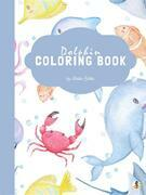 Dolphin Coloring Book for Kids Ages 3+ (Printable Version)