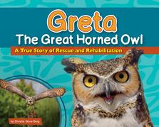 Greta the Great Horned Owl