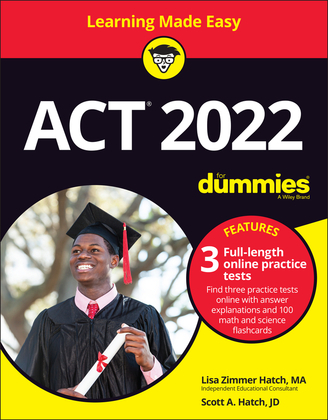 ACT 2022 For Dummies with Online Practice