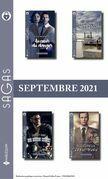 Pack mensuel Sagas : 12 romans (Septembre 2021)
