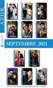 Pack mensuel Azur: 11 romans + 1 gratuit (Septembre 2021)