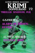Krimi Doppelband 72 - Thriller Spannung pur