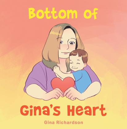 Bottom of Gina's Heart
