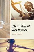 Des délits et des peines (Annoté)