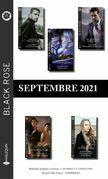 Pack mensuel Black Rose : 10 romans ( Septembre 2021)