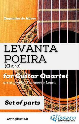 Levanta Poeira - Guitar Quartet (PARTS)