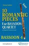 10 Romantic Pieces - Bassoon Quartet (BN.4)