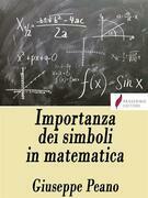 Importanza dei simboli in matematica