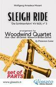Sleigh Ride - Woodwind Quartet (PARTS)