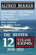 Die besten 12 Strand Krimis Juni 2021