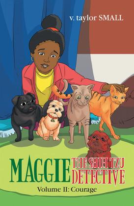 Maggie the Shih Tzu Detective