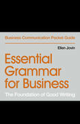 Essential Grammar for Business
