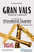 Gran Vals - Woodwind Quartet (PARTS)
