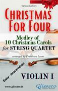 (Violin I) Christmas for four - String Quartet