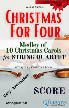 (Score) Christmas for four - String Quartet