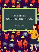 Monsters Coloring Book for Kids Ages 3+ (Printable Version)