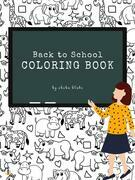 Back to School Animals Coloring Book for Kids Ages 3+ (Printable Version)