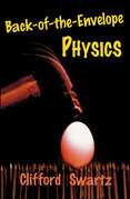 Back-of-the-Envelope Physics
