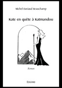 Kate en quête à Katmandou