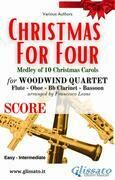 (Score) Christmas for four - Woodwind Quartet