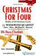 (Bass Clarinet) Christmas for four - Woodwind Quartet