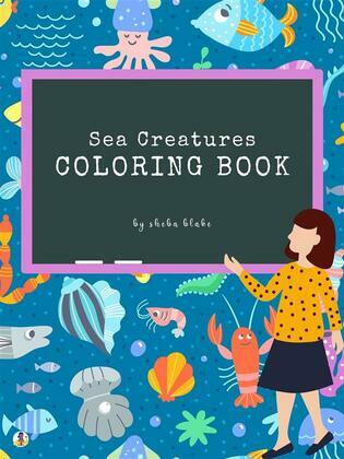 Sea Creatures Coloring Book for Kids Ages 3+ (Printable Version)