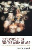 Deconstruction and the Work of Art
