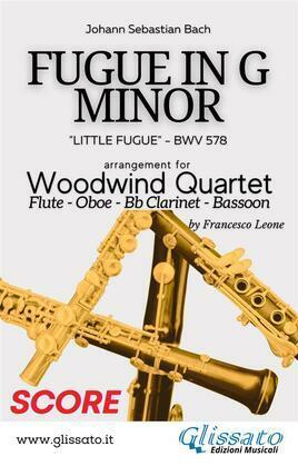 (Score) Little Fugue - Woodwind Quartet