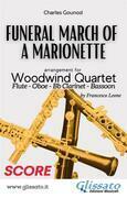 (Score) Funeral March of a marionette - Woodwind Quartet