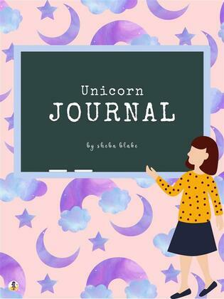 Unicorn Primary Journal with Positive Affirmations for Kids - Grades K-2 (Printable Version)