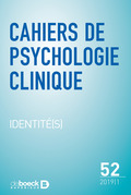 Cahiers de psychologie clinique