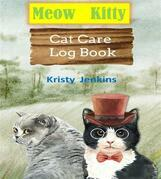 Meow Kitty Cat Care Log Book  Journal