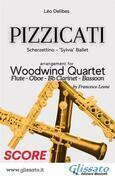 Pizzicati - Woodwind Quartet (Score)