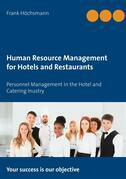 Human Resource Management for Hotels and Restaurants