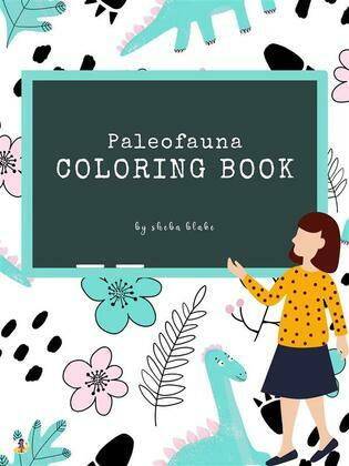 Paleofauna Coloring Book for Kids Ages 6+ (Printable Version)