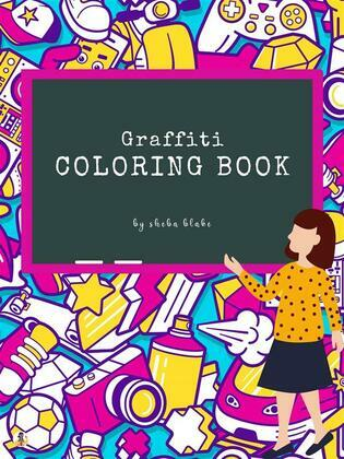 Graffiti Street Art Coloring Book for Kids Ages 4+ (Printable Version)