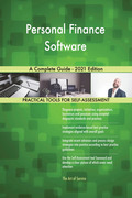 Personal Finance Software A Complete Guide - 2021 Edition