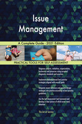 Issue Management A Complete Guide - 2021 Edition