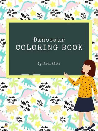 The Completely Inaccurate Dinosaur Coloring Book for Kids Ages 6+ (Printable Version)