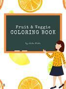 Fruit and Veggie Coloring Book for Kids Ages 3+ (Printable Version)