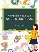Cartoon Animals Coloring Book for Kids Ages 3+ (Printable Version)