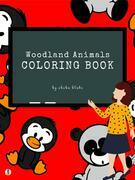 Woodland Animals Coloring Book for Kids Ages 3+ (Printable Version)